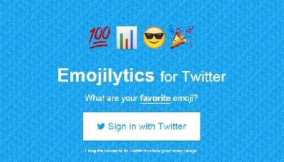 ¿Qué emoji utilizas más en Twitter? – Maria en la red