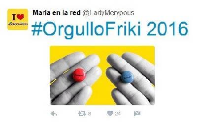 #OrgulloFriki 2016: ¿Qué han hecho las marcas en Twitter? – Maria en la red