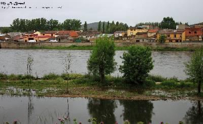 Fotografía del mes de Mayo – El Águeda inunda La Pesquera, los parking y el camino en Ciudad Rodrigo (Salamanca)