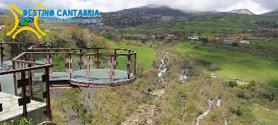Destino Cantabria: Mirador y nacimiento del río Gándara - Al filo de lo Improbable