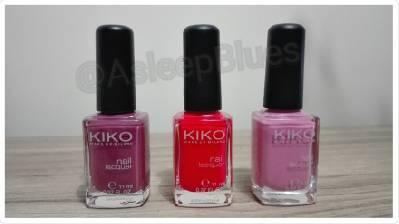 Esmaltes de uñas para el verano. Haul Kiko Cosmetics