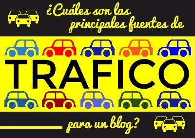 ¿Cuáles son las principales fuentes de tráfico para un blog?   Web Services Pro