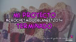 LidiaZuniReds (Solo por el gusto de compartir): Crochet Mood Blanket Reto Instagram