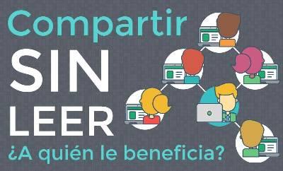 Compartir sin leer ¿A quién le beneficia?   Web Services Pro