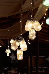 Iluminación con velas para bodas. |