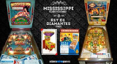 Pinball Mississippi y Pinball King Of Diamond. Los Petacos que lo petaban