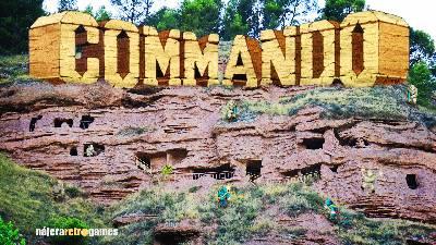 Commando, retro análisis ( con humor del malo) de la recreativa de Capcom. Review del arcade shoot'em up.