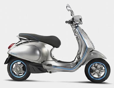 Vespa anuncia su moto eléctrica para 2017 -