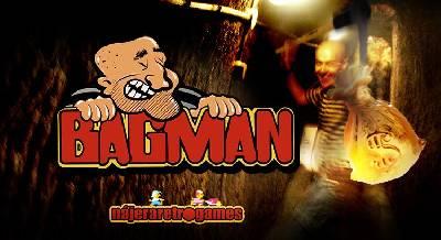 Review del juego Bagman. La recreativa arcade del ladrón y las carretillas