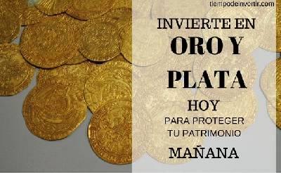 Invierte en oro y plata hoy para proteger tu patrimonio mañana - Tiempo de Invertir