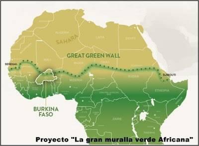 El mundo de la ecologia: La gran muralla verde Africana