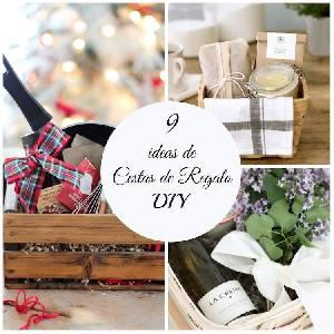 9 cestas de regalo DIY