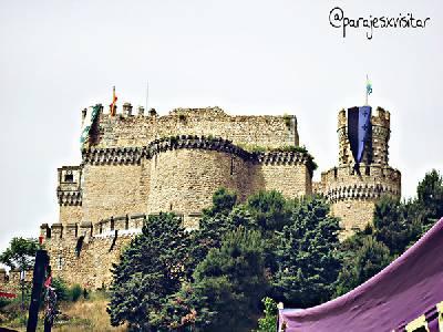 Manzanares El Real. El Pueblo Y Su Castillo.