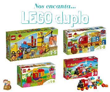 Creatividad e imaginación al poder con Lego Duplo | Con los niños en la mochila
