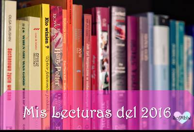 SofMlbw: Lecturas del 2016 y Goodreads