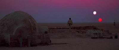 Exoplanetas desérticos, el hogar de Skywalker.
