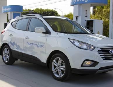 Mejor autonomía para los SUV Hyundai de hidrógeno -