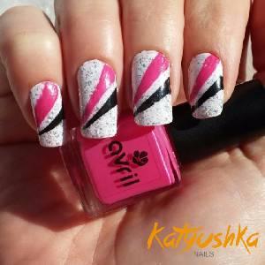 Diseños de uñas de color rosa (Parte 1) – Katyushka Nails