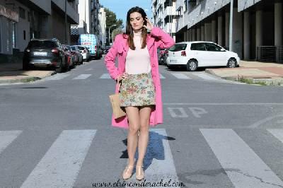 Floral Jacquard Skirt Outfit - El Rincón de Rachel