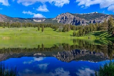 El mundo de la ecologia: Yellowstone, el primer parque nacional del mundo