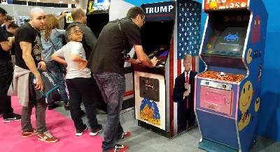 Review arcade Trump World Conqueror de 1987. Inquietante como Polibius
