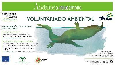 Voluntariado, Recuperación de hábitats para anfibios