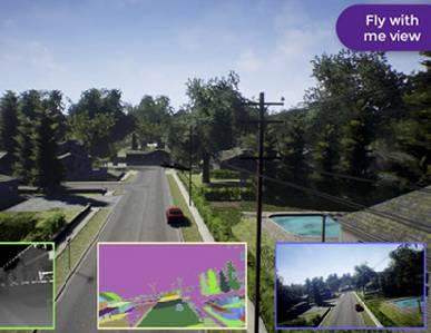 Microsoft pone a prueba virtual drones y coches autónomos -