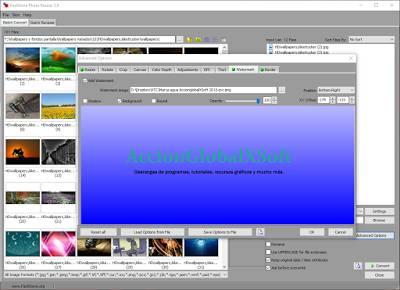 FastStone Photo Resizer - Renombrar, redimensionar y añadir marcas de agua a tus imágenes por lotes