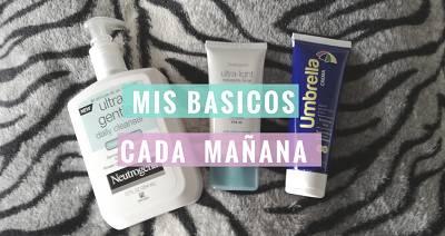 Basicos para limpiar el rostro