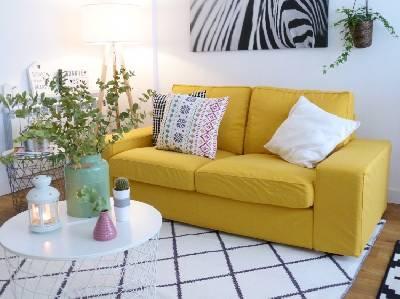 Nueva funda de Comfort works para mi sofá kivik de Ikea