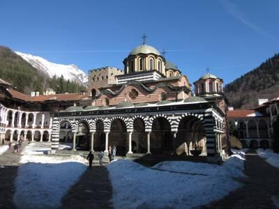 La iglesia Boyana y el monasterio de Rila