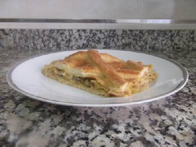 Empanada de mejillones - Hoy tenemos para comer...