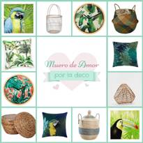 Muero de Amor por la Deco: Blog de decoración, ideas y tendencias.: Decoración Tropical I
