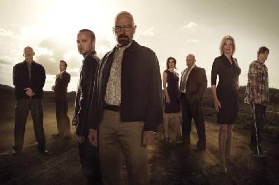 El casting de los actores para la serie Breaking Bad