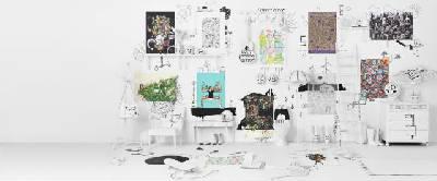 Viste las paredes con la nueva colección Art Event de Ikea