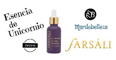 Mardebelleza: Farsali Unicorn Essence - Review