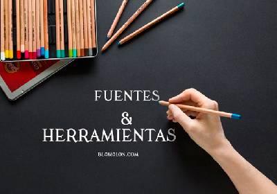 Fuentes & Herramientas - blomolón