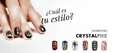 Uñas decoradas con Cristales Swarovski - Katyushka Nails