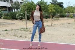 Floral Embroidered Jeans Outfit - El Rincón de Rachel