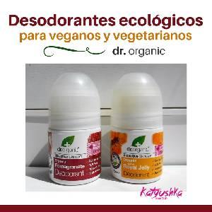Desodorantes para veganos y vegetarianos - Katyushka Makeup