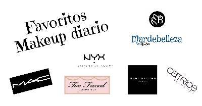 Mardebelleza: Favoritos en mi maquillaje diario