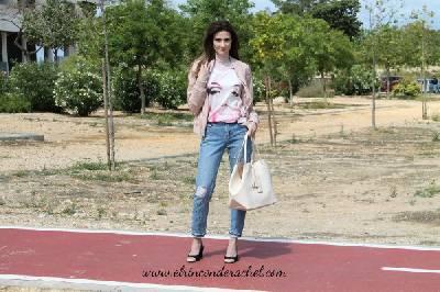 Marilyn T-Shirt & Pearl Jeans Outfit - El Rincón de Rachel