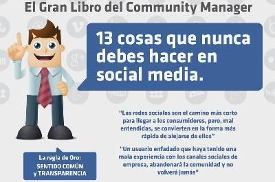 13 Errores en Redes Sociales que no deberías cometer