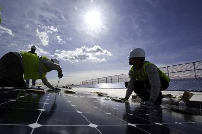 El empleo con las energías renovables