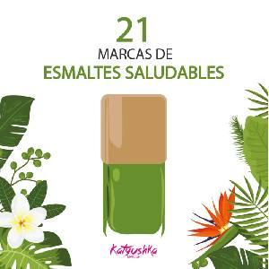 21 marcas de esmaltes de uñas saludables - - Katyushka Makeup