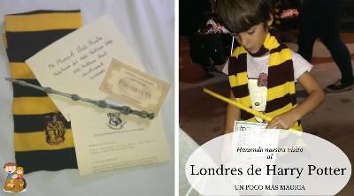 Regalos para fans de Harry Potter - Con los niños en la mochila