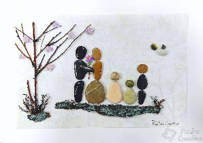 El valor de la familia reflejándose en PiedraCreativa