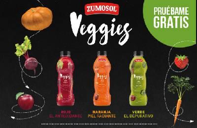 Prueba gratis Veggies de Zumosol - Thinkeando