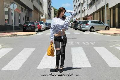 Striped T-Shirt Oufit - El Rincón de Rachel