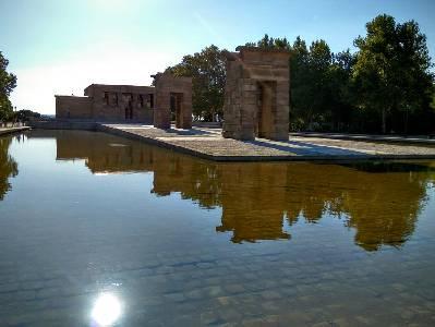Templo de Debod, España - Un pedazo de Egipto en el corazón de Madrid